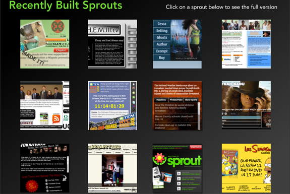 seo website building  Sprout Your Widget (no, thats not a euphemism)