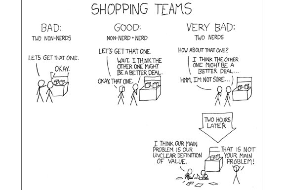 The Clever Webcomics of xkcd