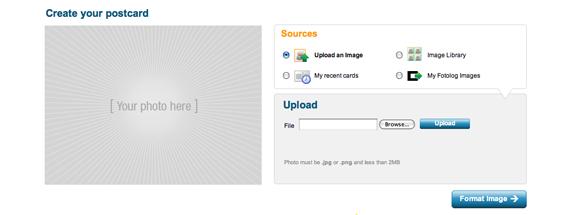 travel websites photoblog  Send Your Photos As Postcards