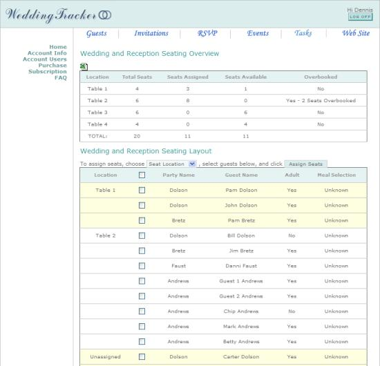 Organize Your Wedding Online With Wedding Tracker Spot Cool