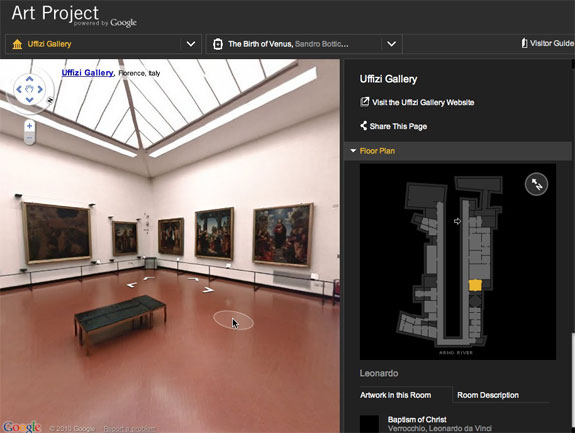 art design  Virtually Visit Museums <br>via the Google Art Project
