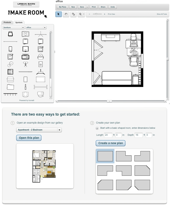 art design  Make Your Own Room—Online