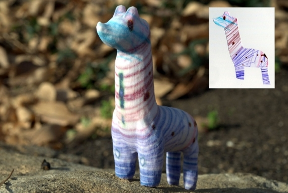 Turn Children's Drawings Into 3D Figurines