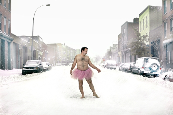 quirky photoblog  The Heartwarming Reason Why This Man is Wearing a Pink Tutu