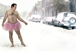 The Heartwarming Reason Why This Man is Wearing a Pink Tutu